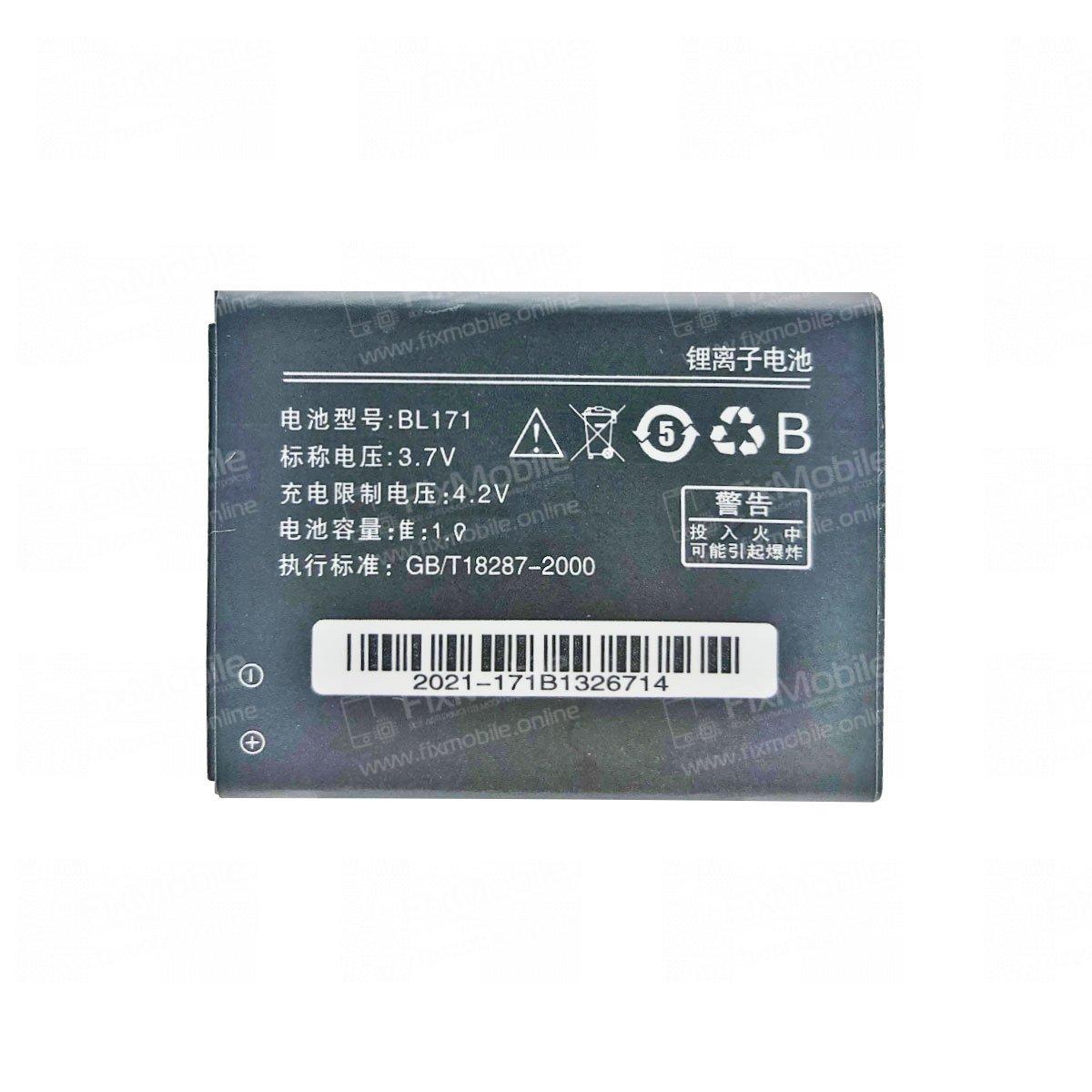 Аккумуляторная батарея для Lenovo A500 BL171